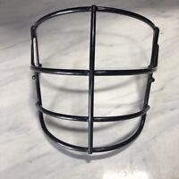 Schutt Super Pro NJOP Vintage Adult Football Helmet Facemask - Black Recert