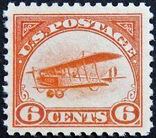Scott #C1 - 6¢ Curtiss Jenny, M, OG, HR, XF, SCV*=$85