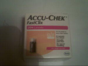 FastClix Accu Chek Lancets 204 * New Original Pack * Long Expiry Date 31/05/2023