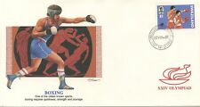XXIV OLYMPIAD THE WORLD'S SALUTE TO THE OLYMPICS / BOXE / BOXING / SWAZILAND