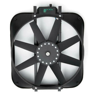 """Proform Cooling Fan 67015; 2800cfm Single Electric 15"""" Straight for Ford Mustang"""