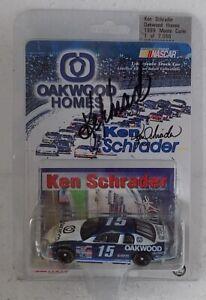 Ken Schrader #15 Oakwood Homes 1999 NASCAR Diecast 1/64 by Action AUTOGRAPHED