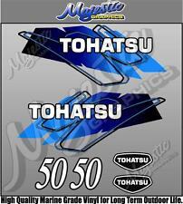 TOHATSU - 50hp - BLUE - OUTBOARD DECALS