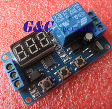 1PCS 12V LED Home Automation Delay Timer Control Switch Relay Module Digital M87