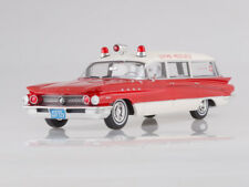 Scale model 1:18 Buick Flxible Premier, red/white, Ambulance, 1960