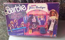 1988# BARBIE VINTAGE - JEANS BOUTIQUE MATTEL NIB