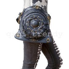 Round Steampunk Belt Bag Waist leg Hip Holster Purse Pouch Packs Motorcycle Bag