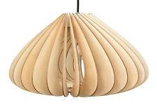 Pendelleuchte Holz Luna Holzlampe Natur E27 Deckenleuchte Deckenlampe LED
