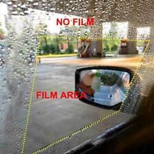 Anti Fog Water Mist Rainproof Car Rear View Mirror Window Protective Film