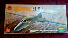 AIRFIX 1:72 Rockwell B-1B LANCER Strategic Bomber Model Kit #12003 COMPLETE
