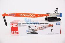 Tomica #127 Hitachi Sumitmo Heavy Industry Consutruction Crane SCX900-3 Diecast