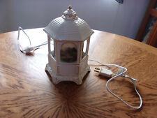 "Thomas Kinkade Music Box Lighted Turns 7 7/8"""