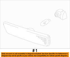 Mercury FORD OEM 02-10 Mountaineer-Side Marker Light Lamp Left 5L9Z15A201BA