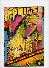 Reptilicus #1, 1961, Charlton, Movie