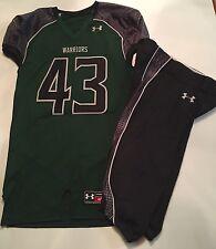 Under Armour Hawaii Warriors SEWN Football Jersey sz XL W/ Pants Team Issued