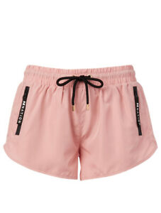 PE NATION THE DOUBLE DRIVE SHORT - PINK - POLYESTER - RRP £100.00