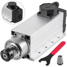 4kw Air Cooled Spindle Motor Er25 Cnc Engraving Milling 18000rpm 220v Square Us