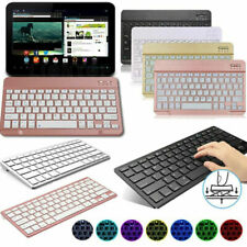 """US Slim Wireless Keyboard For iPad 10.2"""" 6th 9.7"""" Air 10.5"""" Pro 11"""" 12.9"""" Tablet"""