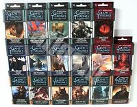 A GAME OF THRONES THE CARD GAME 1st Edition LCG CHAPTER PACKS Fantasy Flight NEW