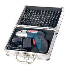 Silverline 3.6v Lithium Ion Rechargable Cordless Screwdriver Set 102pc