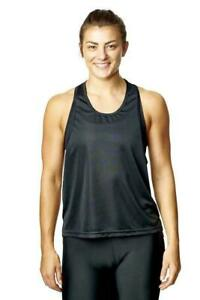Womens Active Gym Sports Tank Top Features Great Quality Mesh Design 4way strech