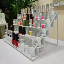 White Beauty Esmalte de uñas Soporte para estantes Organizador de metal