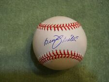 BRENT BUTLER AUTOGRAPHED SIGNED BASEBALL, COLORADO ROCKIES