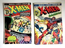 THE X-MEN Vol.1 #85 & 91 ~ 1st Changeling! The Avengers! 2 Bronze Age Comic LOT