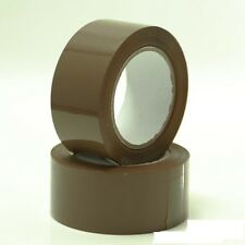 1X Brown Adhesive Packaging Tape Roll Parcel Box Sealing Packing 40 Mtr 4.8cm W