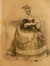 LITHOGRAPHIE FRAGONARD 1840 / LA FAVORITE  XVIIIe