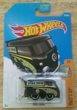 Kool Kombi #302 Black 2017 Hot Wheels Case N