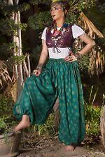 Tribal Belly dance Bloomers Block Print Harem Pants Very Full