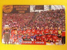 M17/2003 Auflage 2000 Stück Fussball FC Bayern Deutsche Meisterschaft 1998/1999