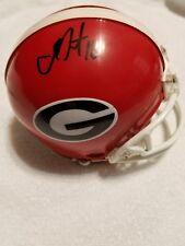 Isaac Nauta Georgia Bulldogs Signed Mini Helmet W/Coa