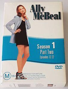 Ally McBeal : Season 1 : Part 2 DVD, 2005, 3-Disc Set