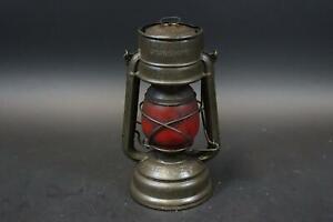 Alte Petroleumlampe Feuerhand Sturmkappe Baby Spezial 276 (DM751)