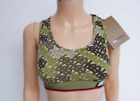 Burberry NEW Top Cropped Bridle Size Xs Muscle Back Women's Bnwts Rrp £220