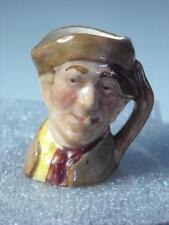"""Tiny 1.5"""" Royal Doulton Arry carácter Jarra 5 fotos 3.8cm D6255 Harry"""