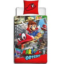 Nintendo super Mario Maker Bettwäsche 2 Tlg. 80x80 135x200 Cm 100 Baumwolle