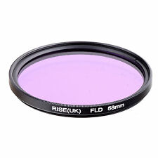 58MM FLD Fluorescent Filter For canon 550D 650D 1000D 1100D 18-55mm 75-300mm