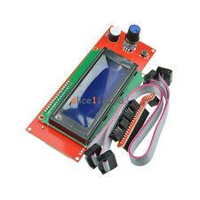 Reprap RAMPS1.4 2004 LCD display controlle with adapter Mendel,Prusa 3D Printer
