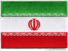 IRAN FLAG embroidered iron-on PATCH IRANIAN EMBLEM PERSIA ISLAMIC REPUBLIC SHAH