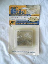 Stick' N Stile Tile Contains six in package Orchid & Narcissus Design