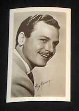 Gig Young 1940's 1950's Actor's Penny Arcade Photo Card