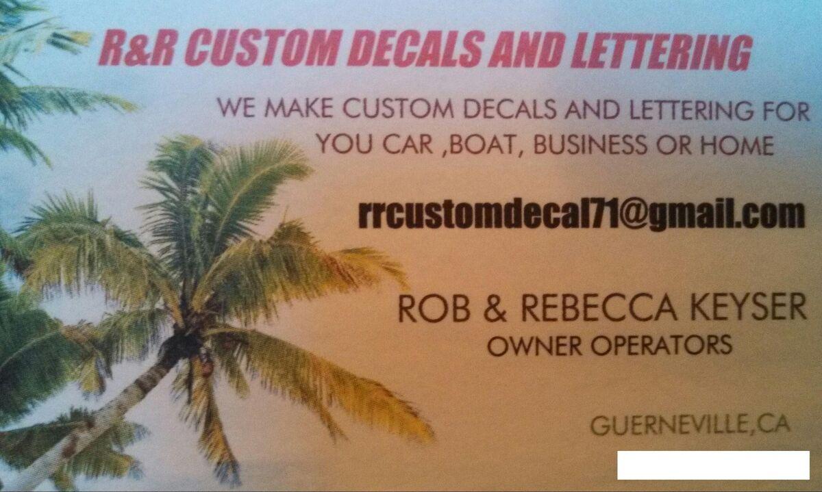 R&R Custom Decals