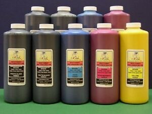 9x1L Bottles of InkOwl Compatible Ink for EPSON 7890 9890
