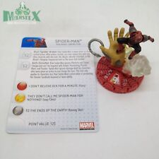Heroclix Amazing Spider-Man set Spider-Man (sinister) #057 Chase figure w/card!