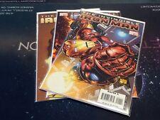 Invincible Iron Man Lot #1-3 Marvel ( CBR225)