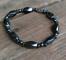 """Magnetic Hematite Anklet / Bracelet Helps with Aches & Pains 9 1/4"""""""