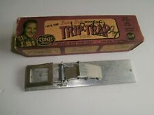 Vintage Bing Crosby Trip-Trap in the box,antique mouse trap.old